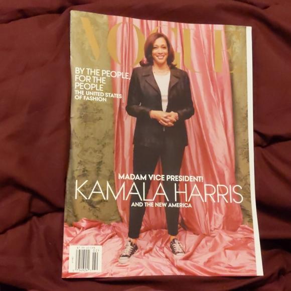 Vogue February 2021 Kamala Harris Madame VP